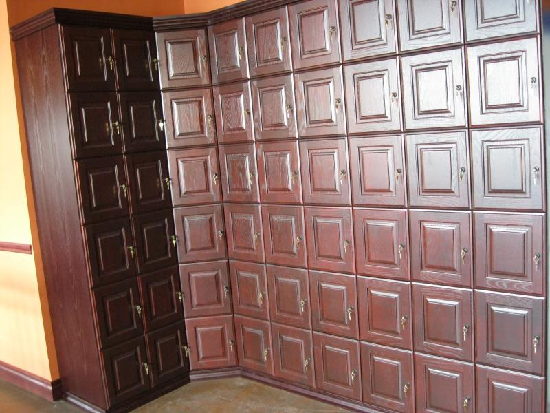 54 unit cigar locker